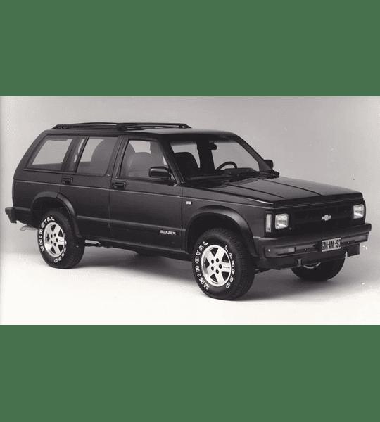 Manual De Taller Chevrolet Blazer (1982-1993) En Español