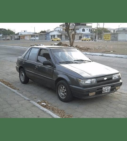 Manual De Taller Chevrolet Gemini (1985-1990) Español