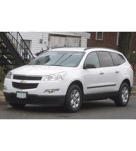 Manual De Usuario Chevrolet Traverse (2009–2017) Español