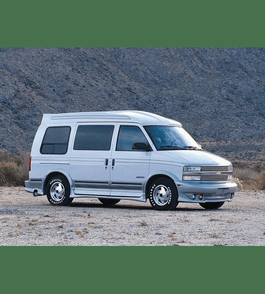 Manual De Taller Chevrolet Astro (1995-2005) En Español