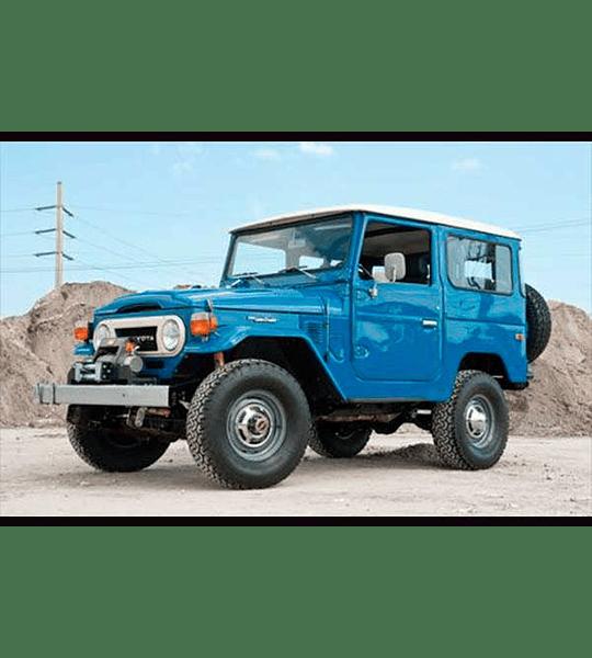 Manual De Taller Toyota Land Cruiser (1960–1984) Ingles