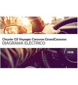 Diagrama Eléctrico Chrysler GS Voyager Caravan GrandCaravan ( 1998 ) inglés