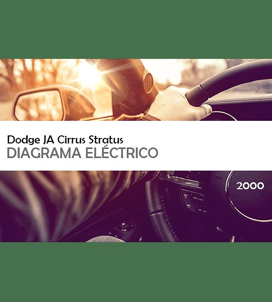 Diagrama Eléctrico Dodge JA Cirrus Stratus ( 2000 ) inglés