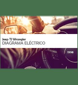 Diagrama Eléctrico Jeep TJ Wrangler ( 1998 ) inglés