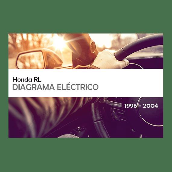Manual De Solución De Problemas Eléctricos Honda RL (  1996-2004 ) inglés