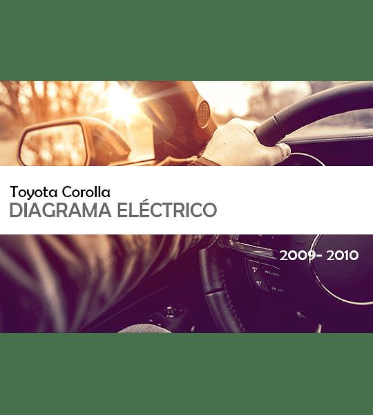 Diagrama Eléctrico  Toyota Corolla ( 2009 – 2010 ) inglés
