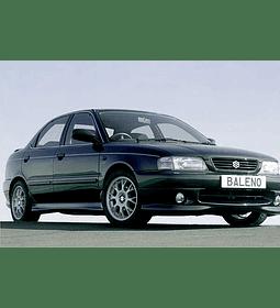 Manual De Taller Suzuki Baleno (1995–2002) Español