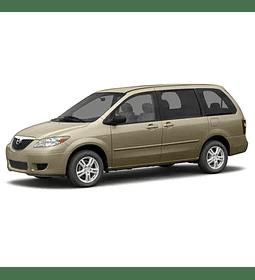 Manual De Taller Mazda Mpv (2006 - 2016) Inglés