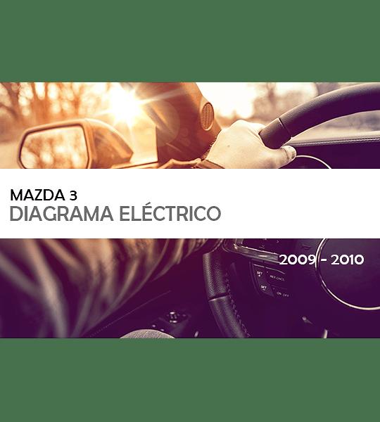 Diagrama Eléctrico Mazda 3 ( 2009 - 2010 ) Español
