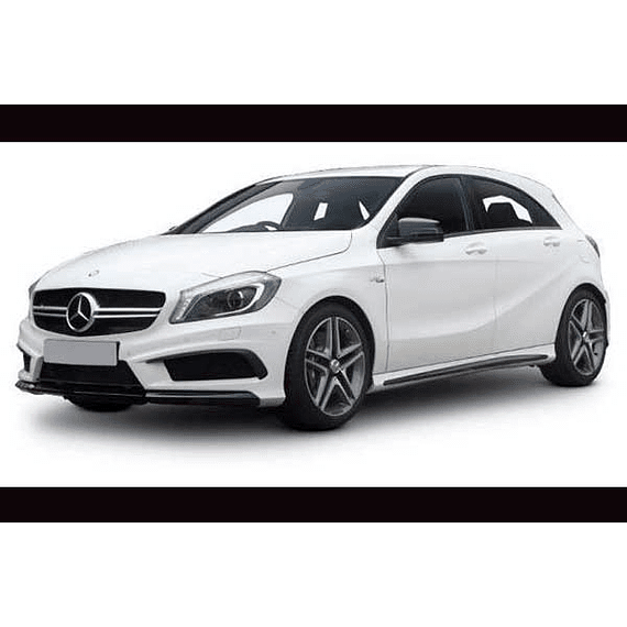 Manual De Despiece Mercedes Benz W176 (2013 - 2018) Español