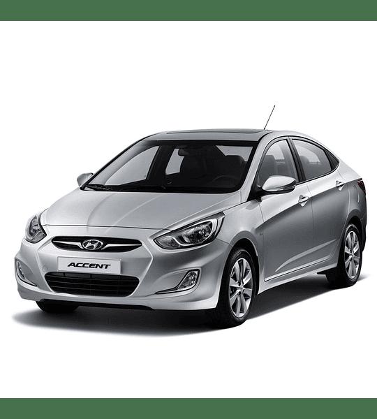 Manual De Despiece Hyundai Accent (2011 - 2018) Español