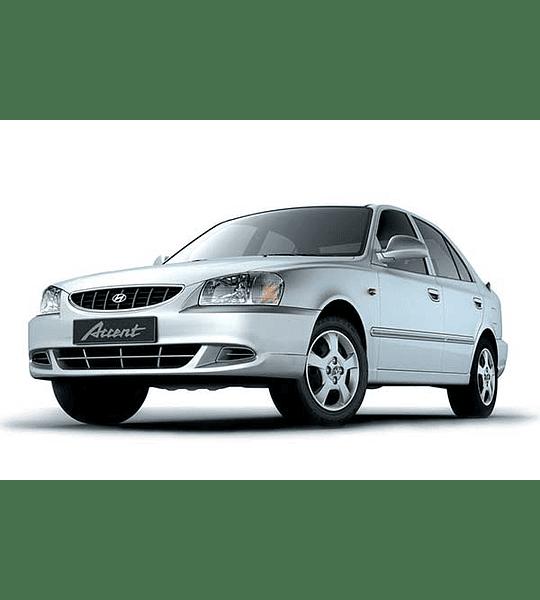 Manual De Taller Hyundai Accent ( 1995 - 2000 ) Español