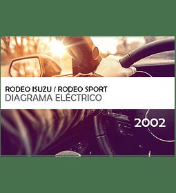 Diagramas eléctricos Isuzu Rodeo / Rodeo Sport ( 2002 ) inglés
