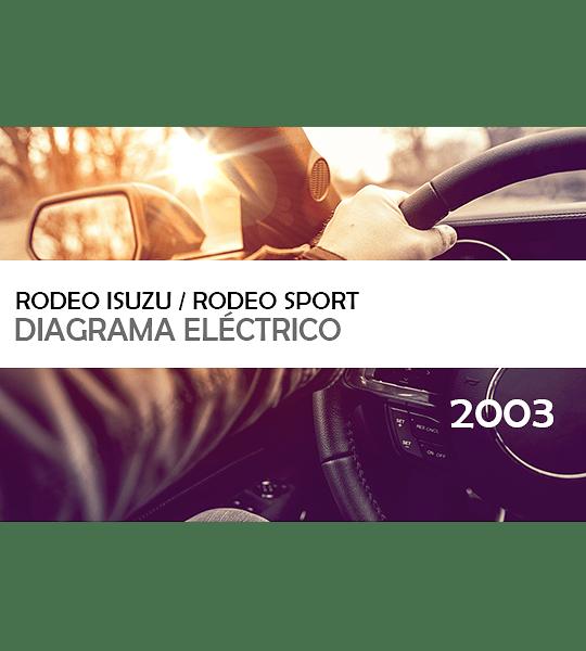 Diagramas eléctricos Isuzu Rodeo / Rodeo Sport ( 2003 ) inglés