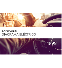 Diagramas eléctricos Isuzu Rodeo ( 1999 ) inglés