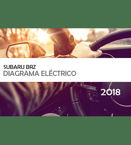 Diagramas eléctricos Subaru BRZ ( 2018 ) Inglés