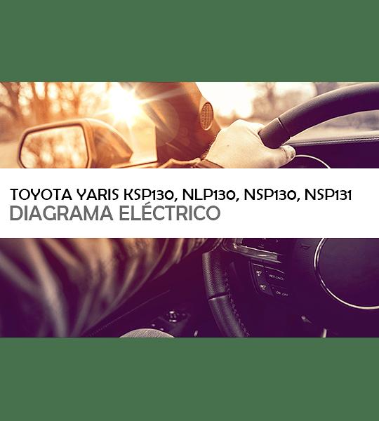 Diagramas eléctricos Toyota Yaris (EM1779E) Inglés