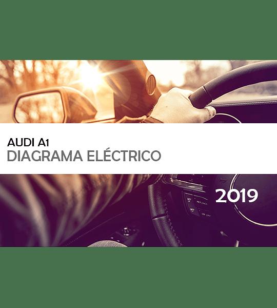 Diagramas eléctricos Audi A1 ( 2019 ) Inglés