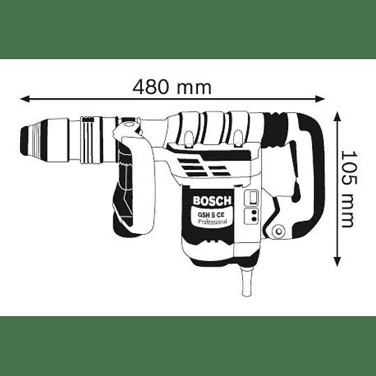 Martillo Demoledor SDS-MAX GSH 5 CE Bosch Professional
