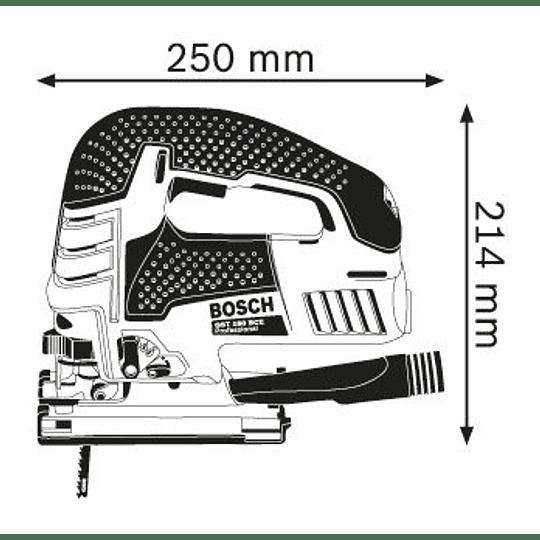 Sierra Caladora GST 150 BCE Professional Bosch