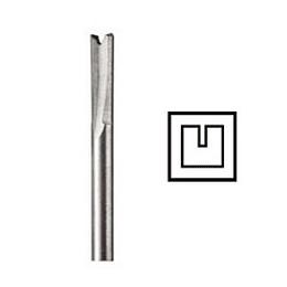 Fresa recta HSS 3,2 mm 650 Dremel