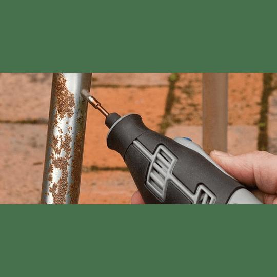 Cepillo de acero inoxidable 3,2 mm modelo 532 Dremel