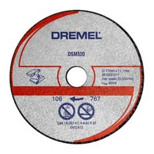 Disco Corte Metal y Plástico 3PCS SM510 Para Saw Max