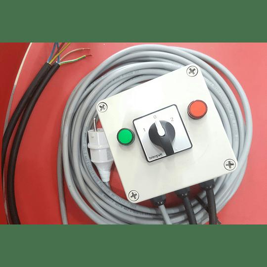 Tablero conexión generador a red domiciliaria