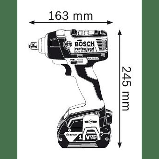 Llave de Impacto 18v GDS 18 V-EC 250 1/2