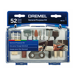 Kit 52 Accesorios 687-01 Uso General Dremel