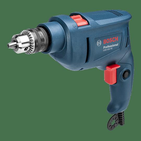 Taladro Percutor 10 mm GSB 450RE Professional Bosch