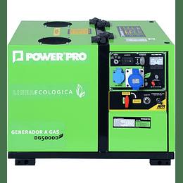 Generador a gas 5 kva DG5000D