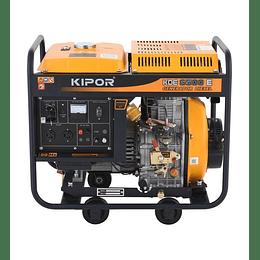 Generador 5 Kva P/eléctrica KDE6500E Kipor