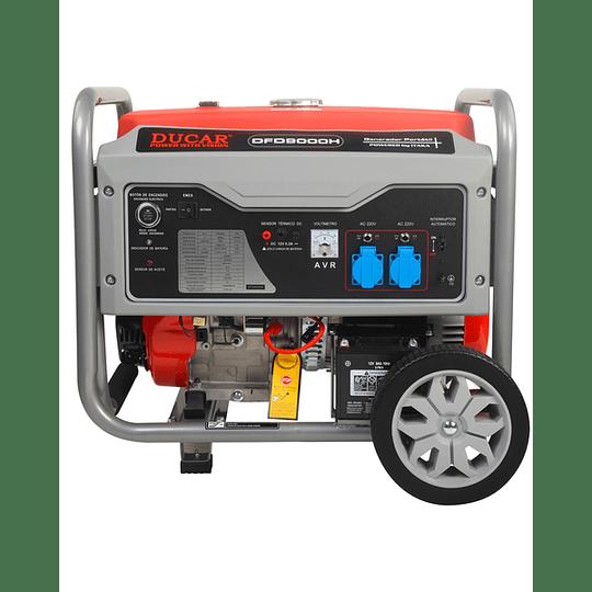 Generador 6.8 Kva P/eléctrica DFD9000H Ducar