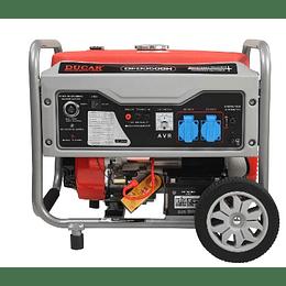 Generador Gasolina 3.0 kW DFD3500H P/eléctrica Ducar