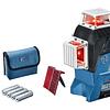 Nivel láser de líneas GLL 3-80 C + trípode Bosch Professional