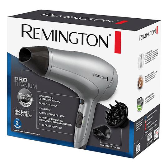 Secador de cabellos PRO TITANIUM D3019 Remington