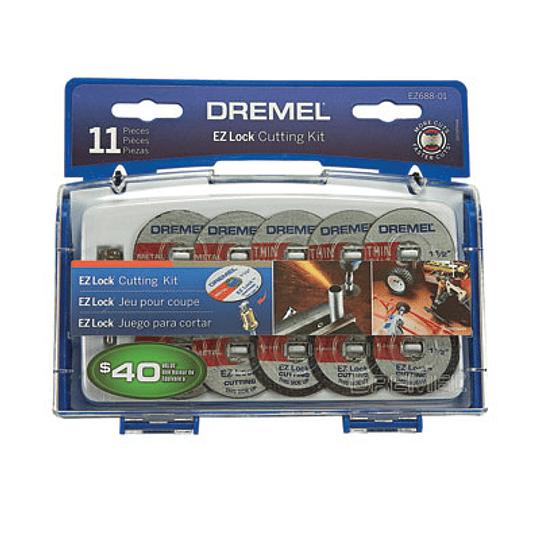 kit 11 acc EZ-Lock EZ688-01 Dremel