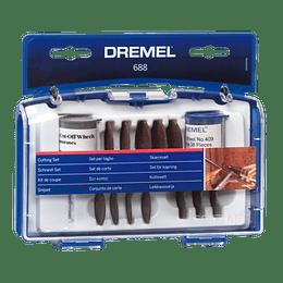 Kit 69 Acc de corte 688 Dremel