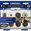 Kit 7 acc Pulir y lijar EZ-Lock EZ684-01 Dremel