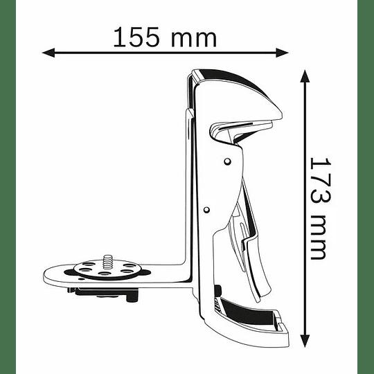 Soporte c/base magnética BM 3 Professional Bosch