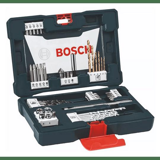 Set brocas y puntas 48 Pcs Titanio X48 X-Line Bosch
