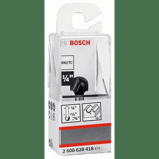 Fresa 1/4 media caña 12.7 mm Bosch 418