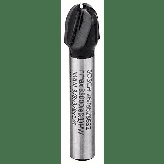Fresa 1/4 media caña 9.5 mm Bosch 632