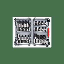 Set 36 pcs Puntas y dados de Impacto atornillar 365 Bosch