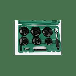 Juego extractores filtro aceite Sata 09703