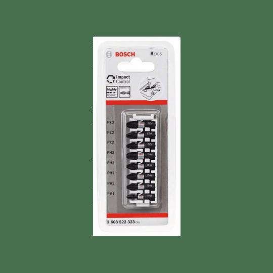 Set 8 pcs puntas atornillar PH/PZ mm 323 Bosch