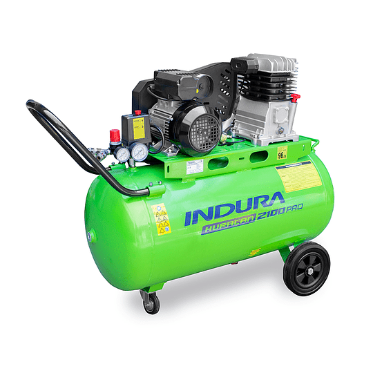 Compresor 100 Lt Huracan 2100 PRO Indura