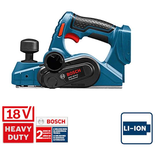 Cepillo Inalámbrico 82MM GHO 18 V-LI + L-Boxx Bosch