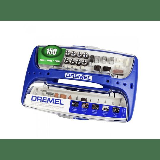 Kit 150 Pcs Acc Multiuso 697-06 Dremel